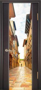 Дверь с фотопечатью рис. 1